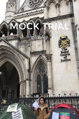 MOCK TRIAL workshop