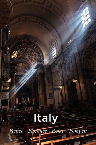 Italy Venice - Florence - Rome - Pompeii