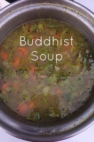 Buddhist Soup