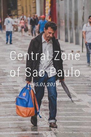 Central Zone of Sao Paulo 05.01.2019
