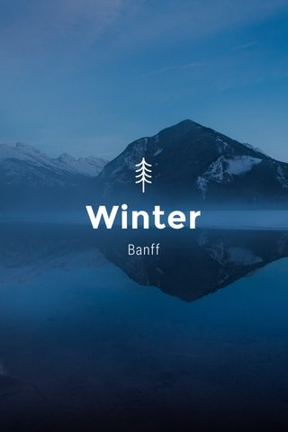 Winter Banff