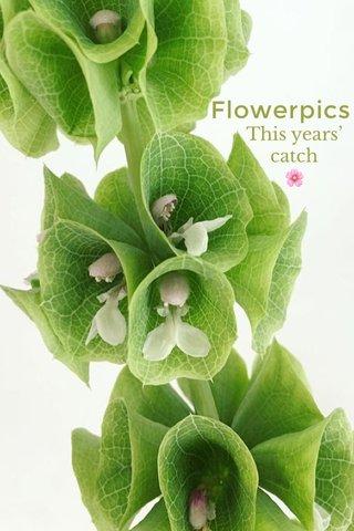 Flowerpics This years' catch 🌸