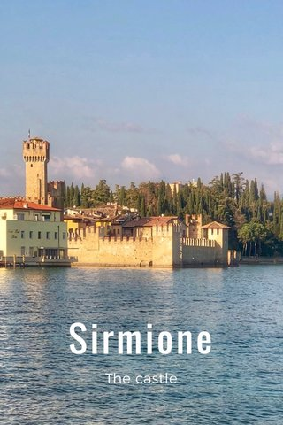 Sirmione The castle