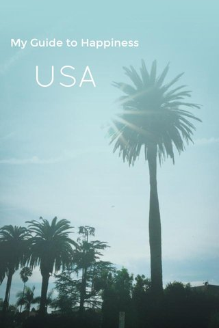 USA My Guide to Happiness