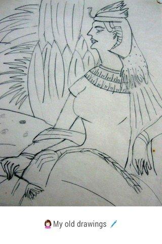 👩My old drawings 🖊