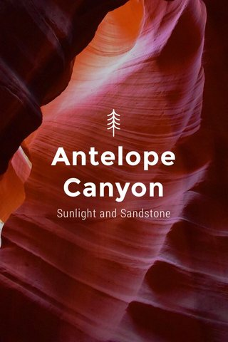 Antelope Canyon Sunlight and Sandstone