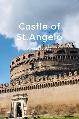 Castle of St.Angelo Rome/ ITALY
