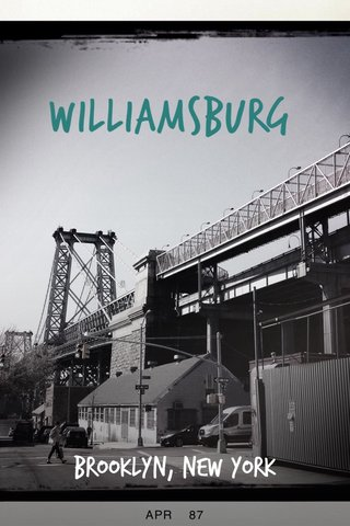 Williamsburg Brooklyn, New York