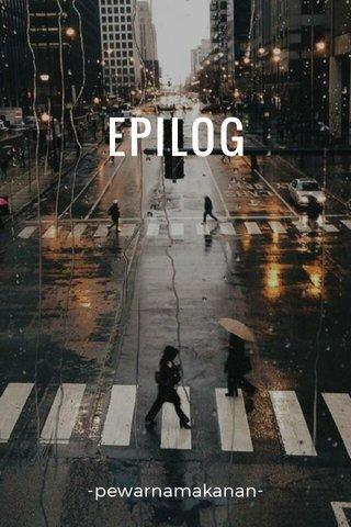 EPILOG -pewarnamakanan-