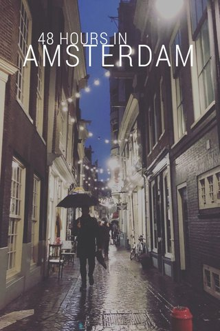 AMSTERDAM 48 HOURS IN