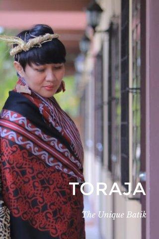 TORAJA The Unique Batik