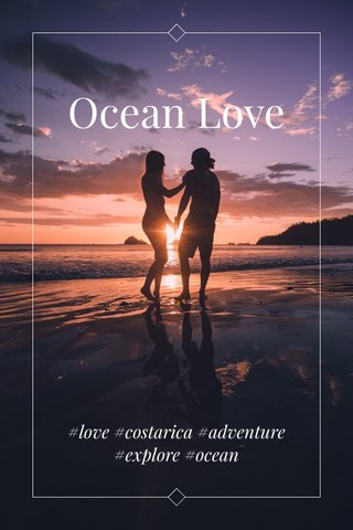 Ocean Love #love #costarica #adventure #explore #ocean