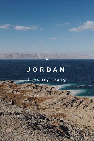 JORDAN January, 2019