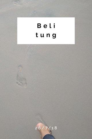 Belitung 26/7/18