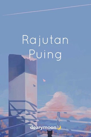 Rajutan Puing dearymoon🌙