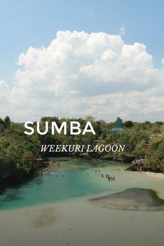 SUMBA WEEKURI LAGOON