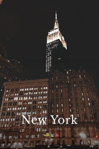 New York 🚕🗽