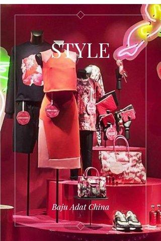 STYLE Baju Adat China