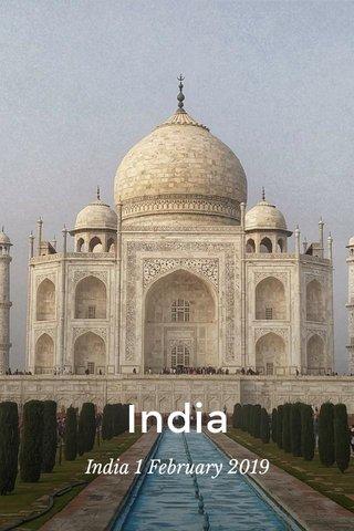 India India 1 February 2019
