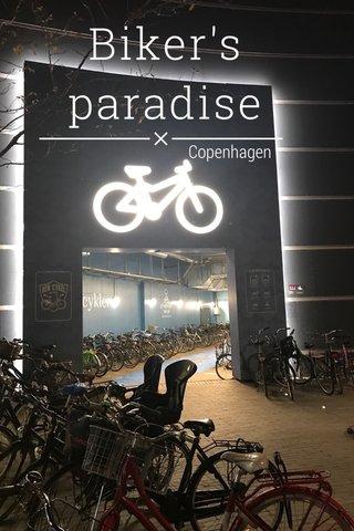 Biker's paradise Copenhagen