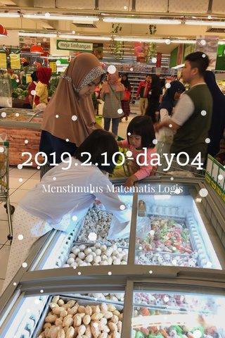2019.2.10-day04 Menstimulus Matematis Logis