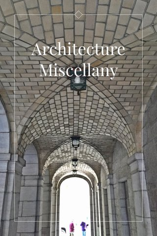 Architecture Miscellany