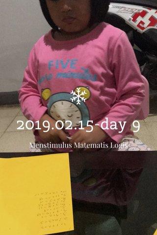 2019.02.15-day 9 Menstimulus Matematis Logis