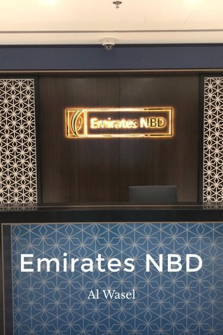 Emirates NBD Al Wasel