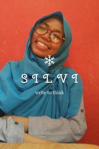 SILVI write to think