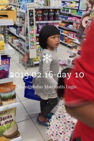 2019.02.16-day 10 Menstimulus Matematis Logis
