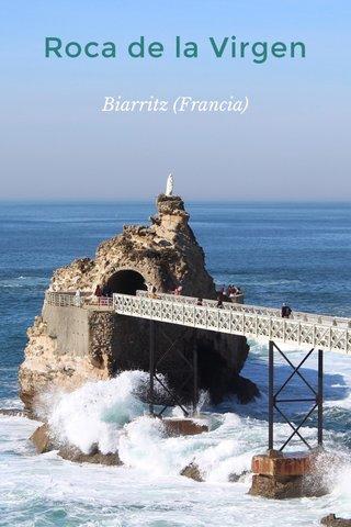Roca de la Virgen Biarritz (Francia)