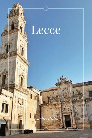 Lecce #stelleritalia