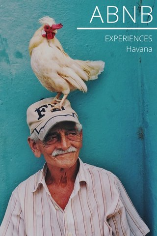 ABNB EXPERIENCES Havana