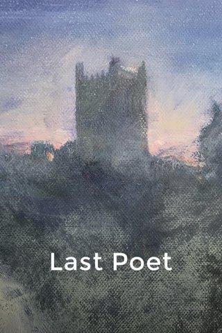 Last Poet