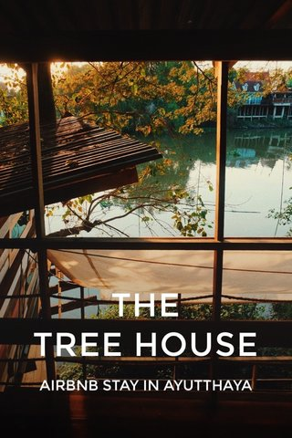 THE TREE HOUSE AIRBNB STAY IN AYUTTHAYA