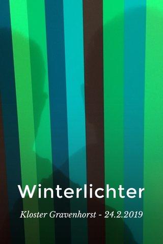 Winterlichter Kloster Gravenhorst - 24.2.2019