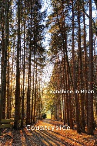 Countryside Sunshine in Rhön