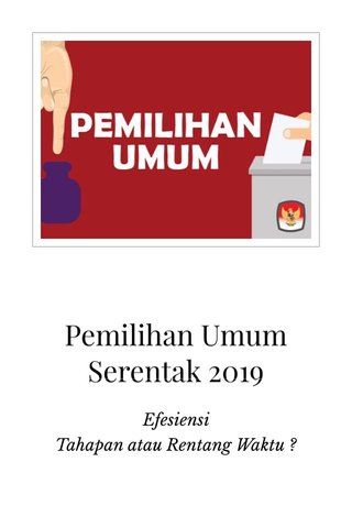 Pemilihan Umum Serentak 2019