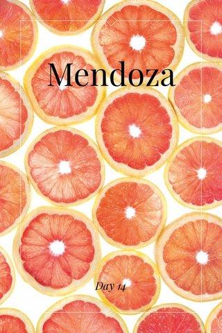 Mendoza Day 14