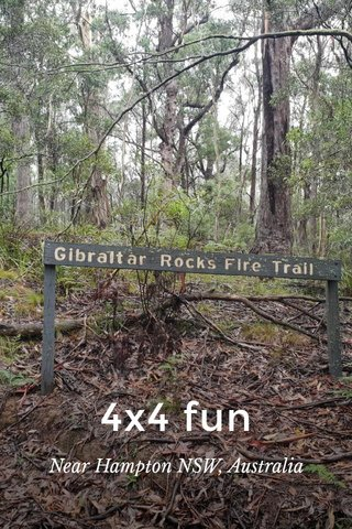 4x4 fun Near Hampton NSW, Australia