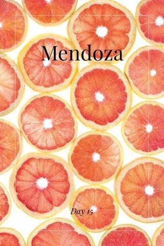 Mendoza Day 15