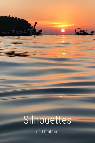 Silhouettes of Thailand