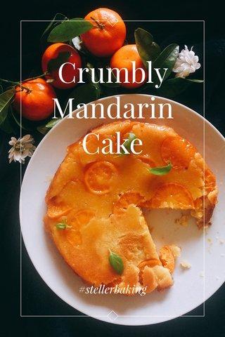 Crumbly Mandarin Cake #stellerbaking
