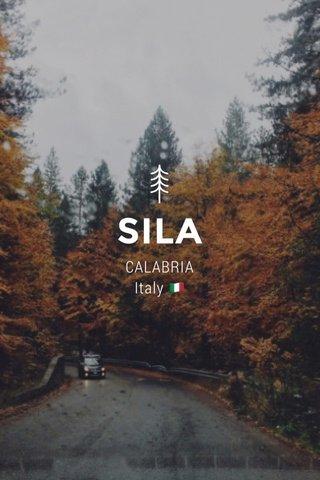 SILA CALABRIA Italy 🇮🇹