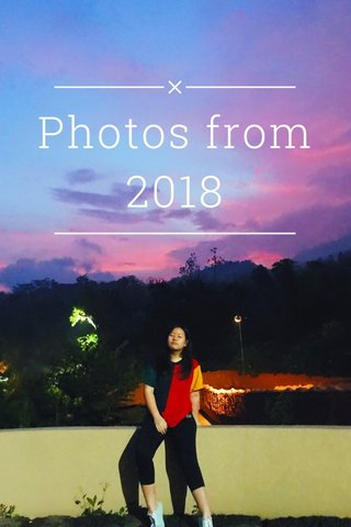 Photos from 2018