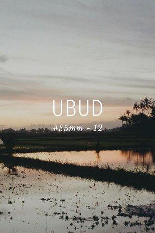 UBUD #35mm ~ 12