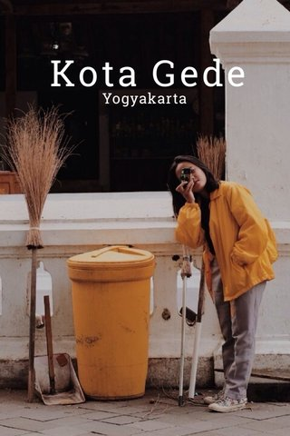 Kota Gede Yogyakarta