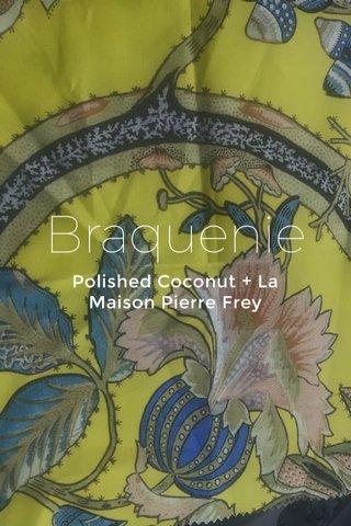 Braquenie Polished Coconut + La Maison Pierre Frey