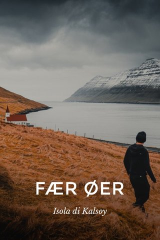 FÆR ØER Isola di Kalsoy