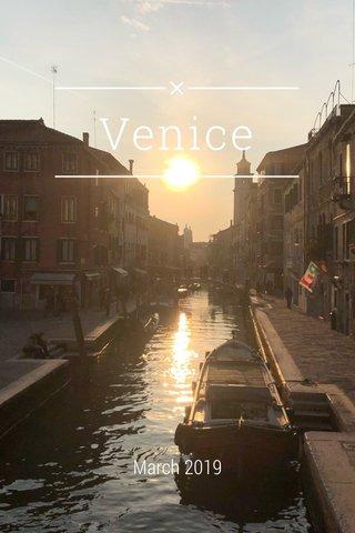 Venice March 2019